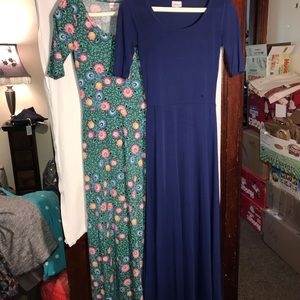 Lot of 2 size small LLR maxi dresses